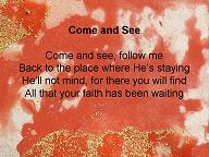 follow me lyrics